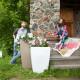 Напольное кашпо для цветов в Новокузнецке